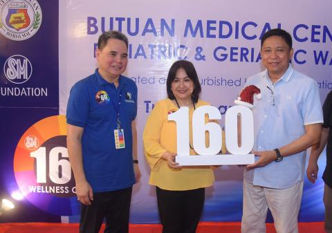 SM Foundation turns over 160 th Wellness Center in Butuan